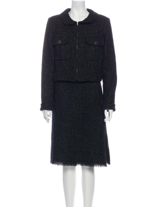 Chanel 2016 Wool Skirt Suit Wool