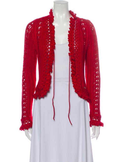 Chanel Vintage 2004 Sweater Red