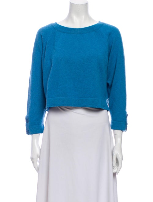 Chanel 2014 Cashmere Sweater Blue