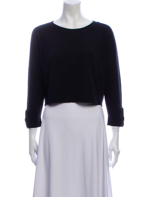 Chanel 2014 Cashmere Sweater Black