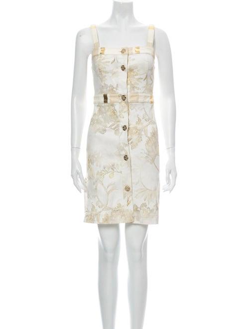 Chanel 2018 Mini Dress Denim