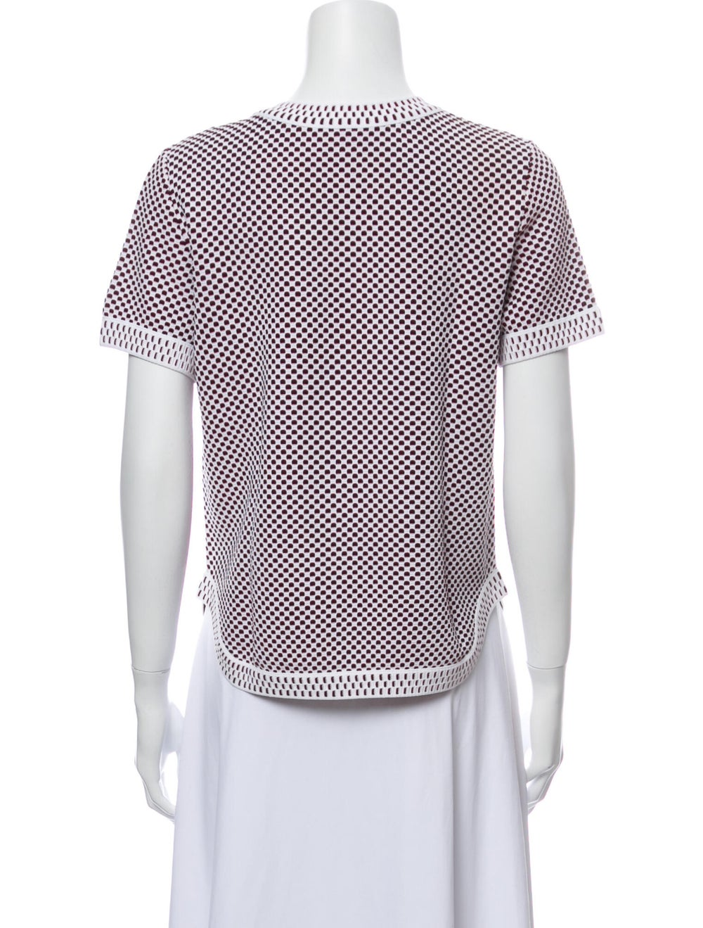 Chanel 2014 Short Sleeve Knit Top T-Shirt - image 3