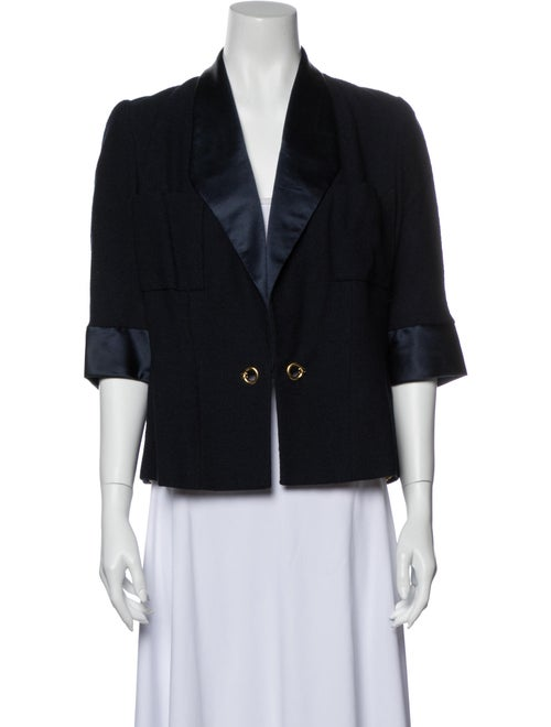 Chanel Vintage Evening Jacket Blue