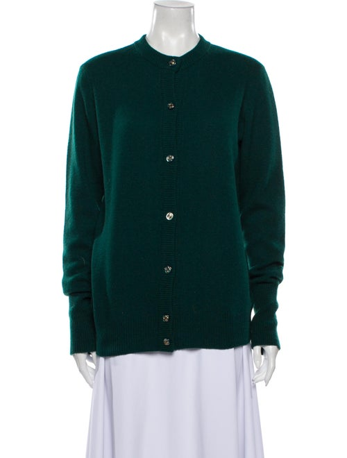 Chanel Vintage 1990's Sweater Green