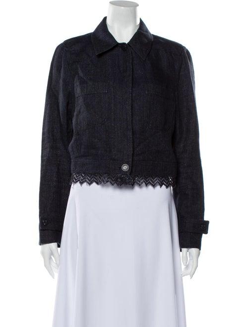 Chanel Vintage 2001 Denim Jacket Denim