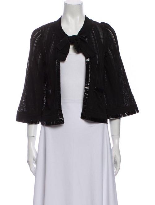 Chanel 2007 Scoop Neck Sweater Black