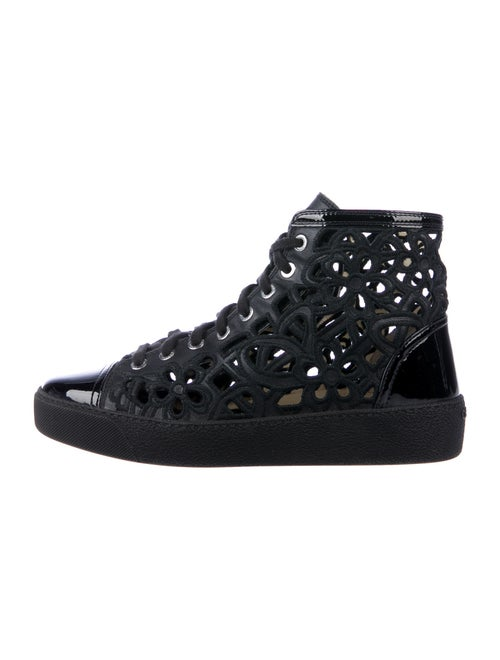 Chanel Calf Leather Sneakers Black