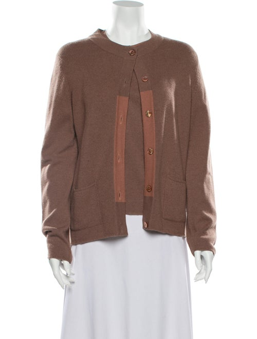 Chanel 1998 Cashmere Sweater Brown