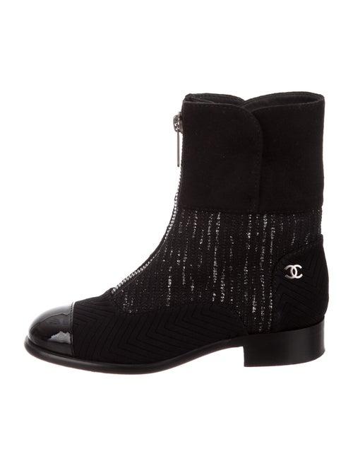 Chanel CC Metallic Boots Boots Metallic