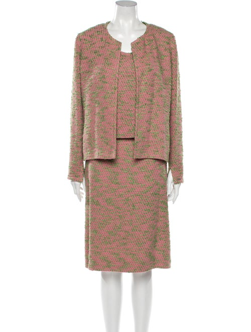 Chanel Vintage 1999 Skirt Suit Pink