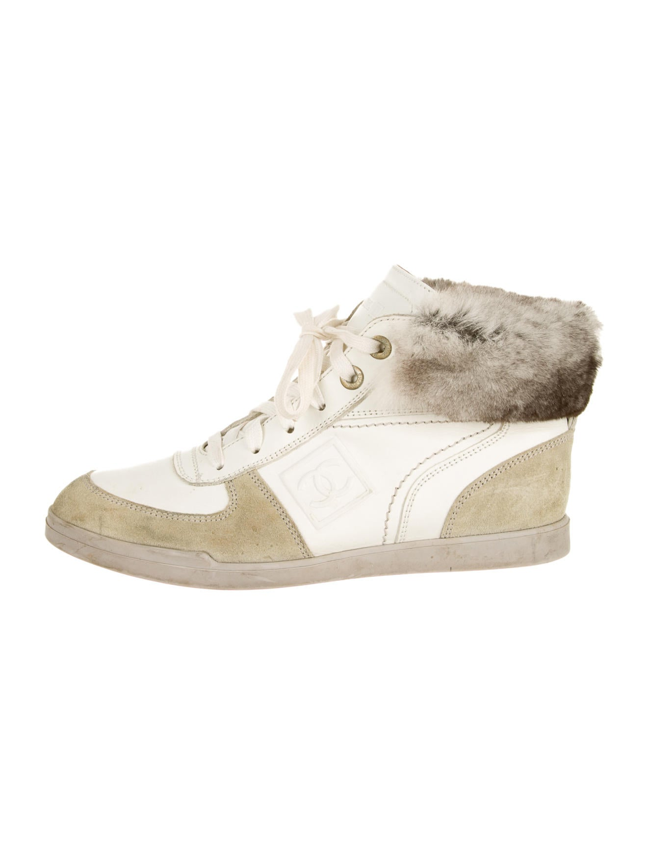 f98ba4f7ef6d Chanel Chinchilla Sneakers - Shoes - CHA50499 | The RealReal