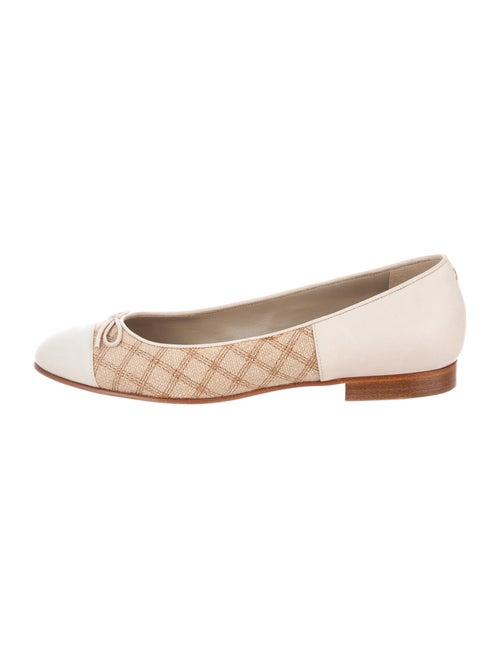 Chanel 2015 Tweed Ballet Flats Flats