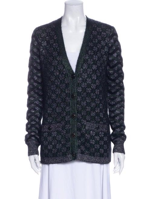 Chanel 2015 Silk Sweater Black