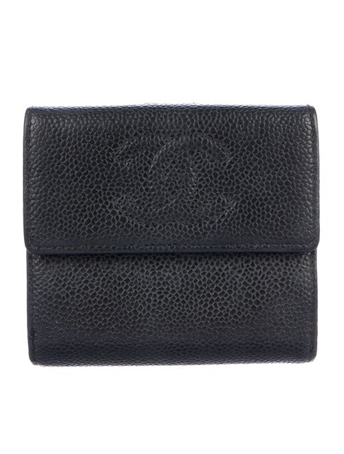 Chanel Timeless French Purse Wallet silver