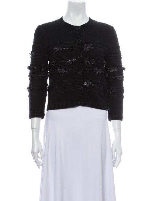 Chanel 2019 Embellished Cropped Cardigan Sweater B