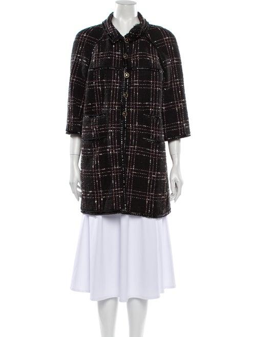 Chanel Vintage 2007 Coat Black