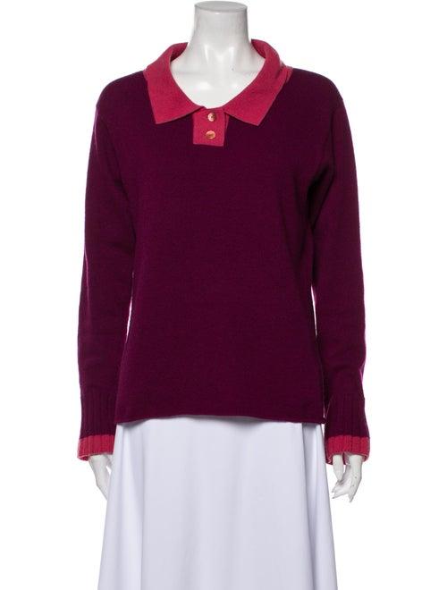 Chanel Vintage 2000 Sweater Purple