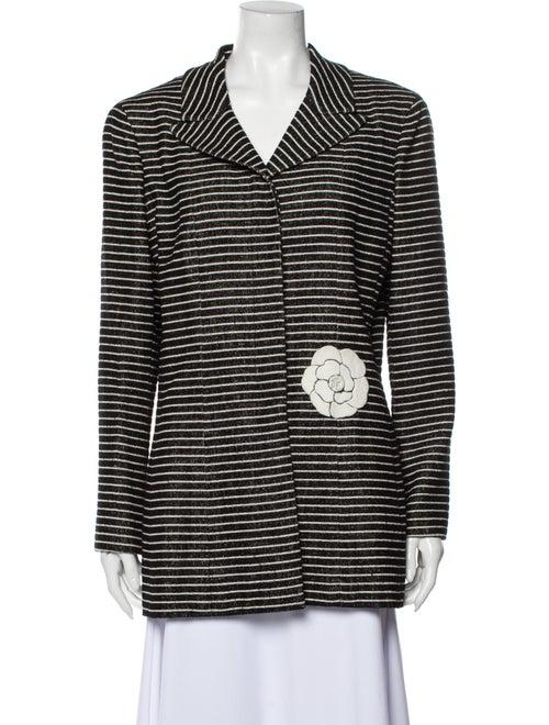 Chanel Vintage 2001 Coat Black