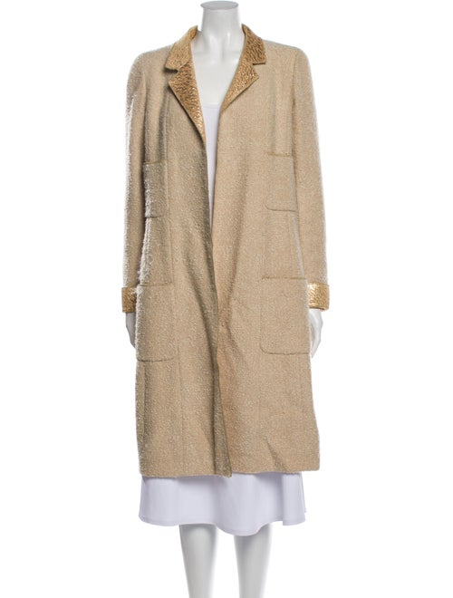 Chanel Vintage 1996 Fur Coat Metallic