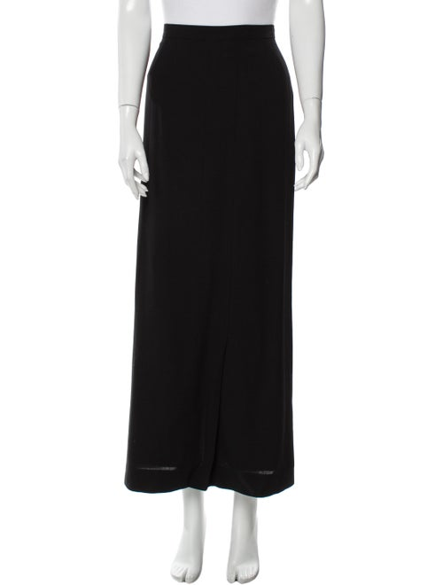 Chanel Vintage Midi Length Skirt Wool