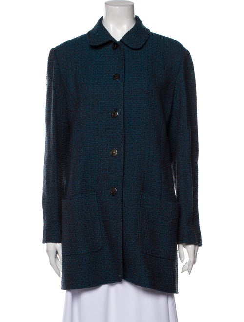 Chanel Vintage 1997 Coat Blue