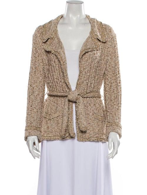 Chanel Vintage V-Neck Sweater
