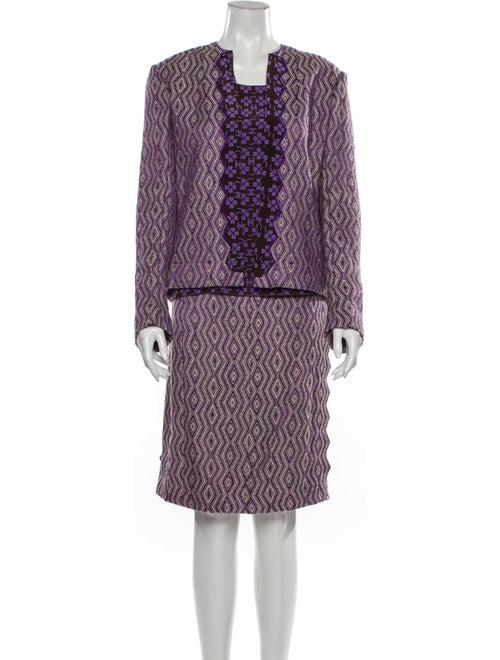 Chanel Vintage 1997 Skirt Set Wool