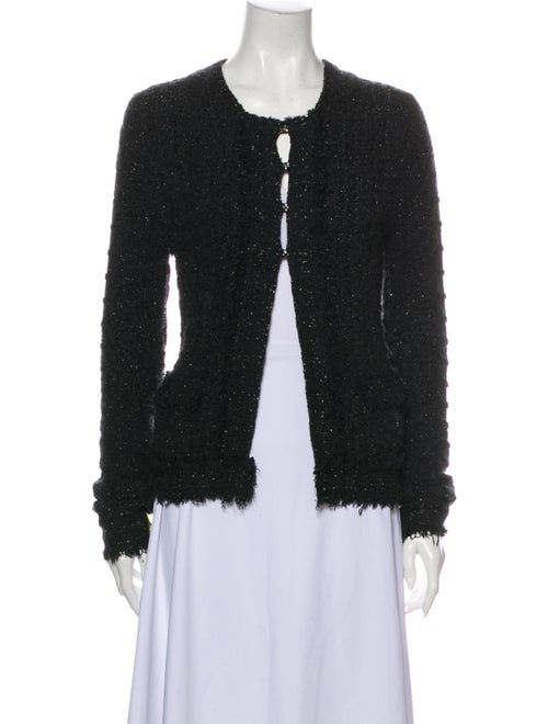Chanel 2005 Scoop Neck Sweater Black