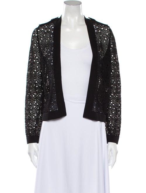 Chanel 2016 V-Neck Sweater Black