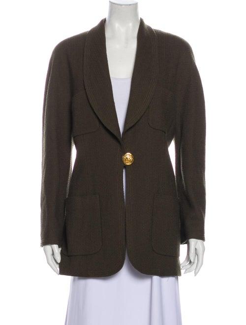 Chanel Vintage Coat Green