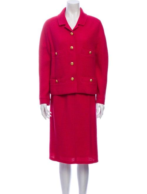 Chanel Vintage 1980's Skirt Suit Pink
