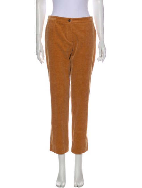 Chanel 2003 Straight Leg Pants w/ Tags Orange