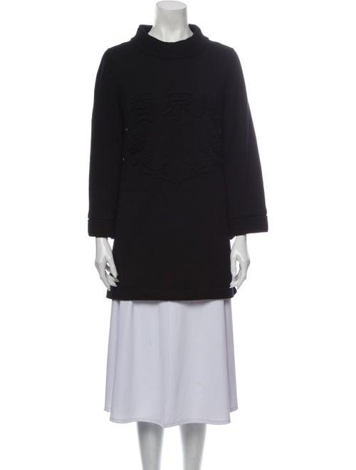 Chanel 2010 Paris-Shanghai Sweater Black