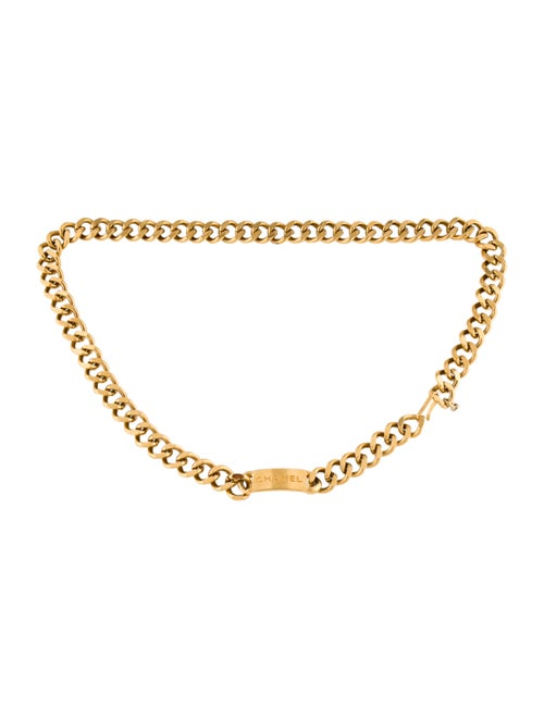 Chanel Vintage Chain-Link Belt Gold