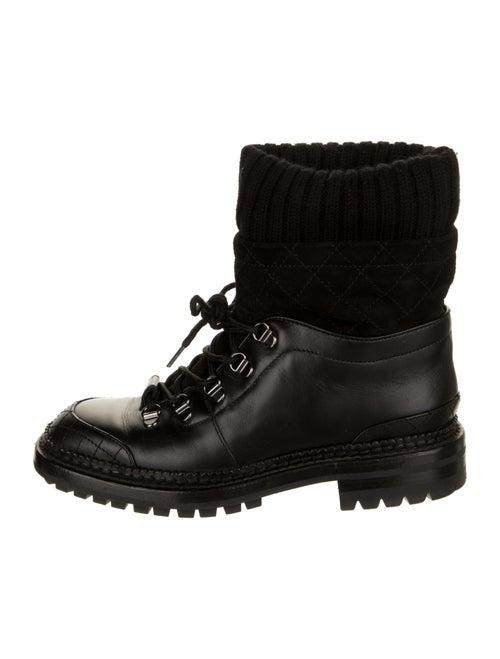 Chanel 2016 Combat Boots Combat Boots Black