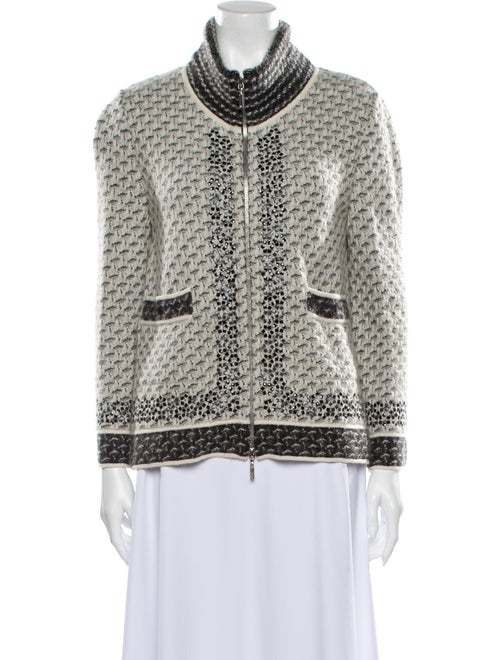 Chanel 2010 Tweed Pattern Cape