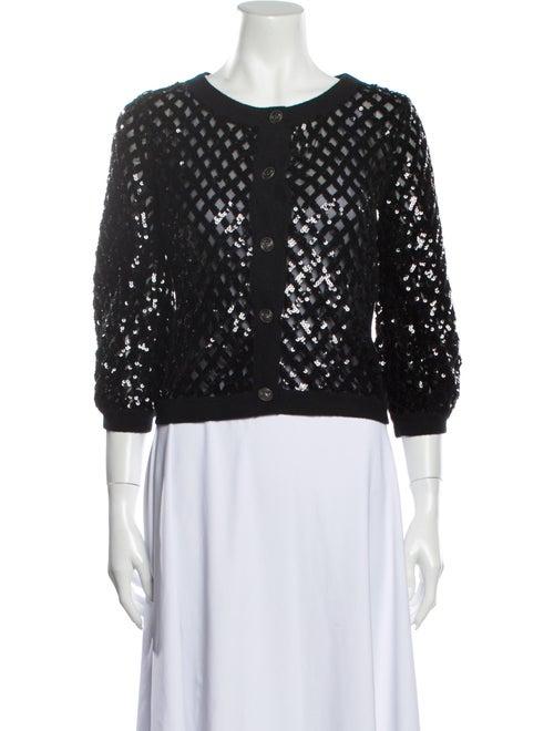 Chanel Vintage 2008 Sweater Black