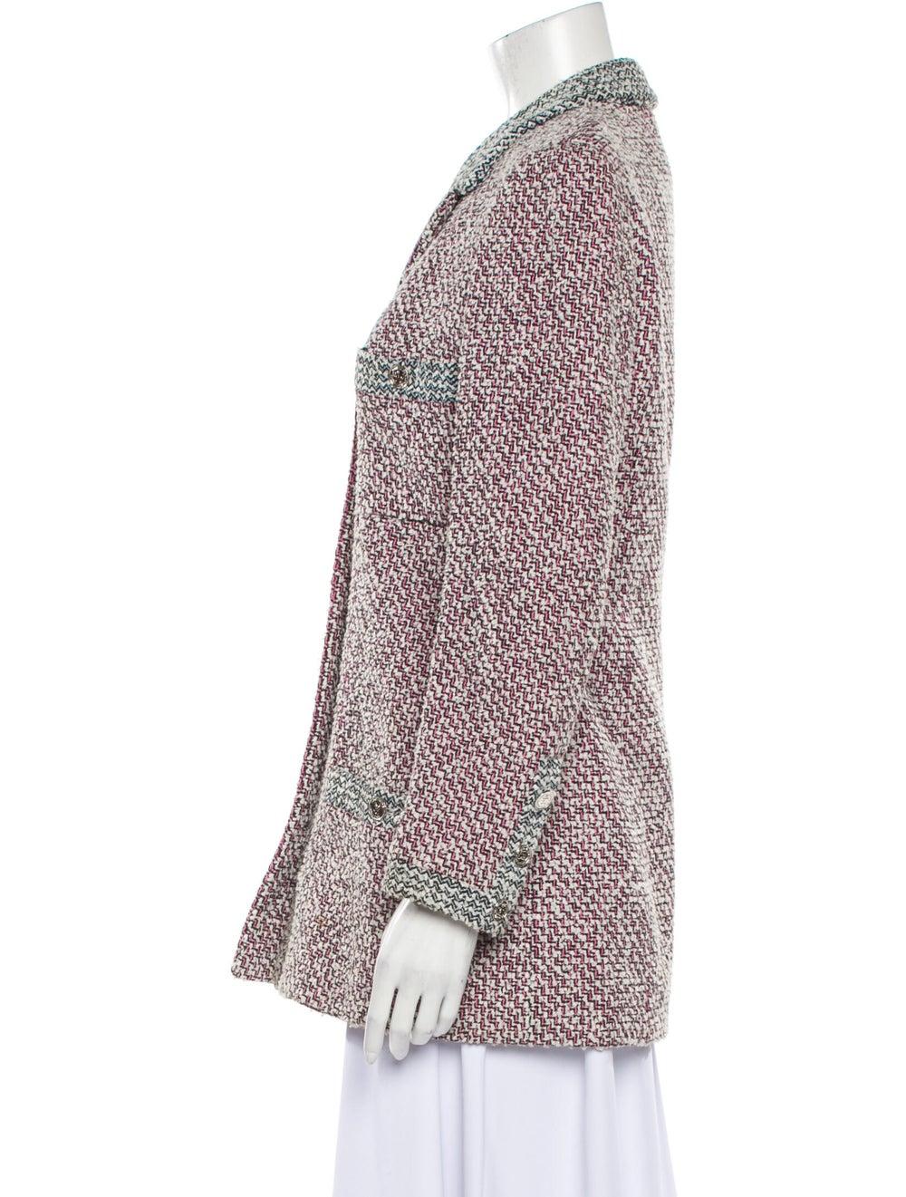 Chanel Vintage 1996 Blazer Pink - image 2