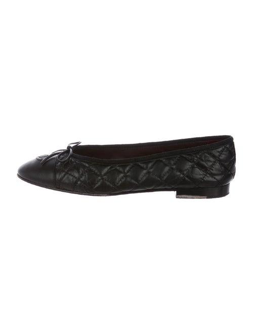 Chanel Calfskin Ballet Flats Black