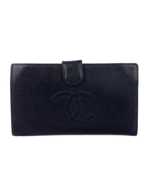 Chanel Timeless French Purse Wallet Black