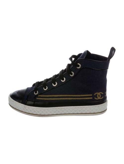 Chanel Sneakers Blue