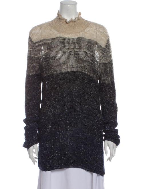 Chanel 2011 Metallic Sweater Sweater Metallic