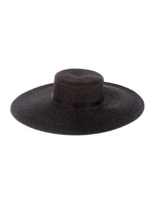 Chanel 2020 Straw Hat w/ Tags w/ Tags Black
