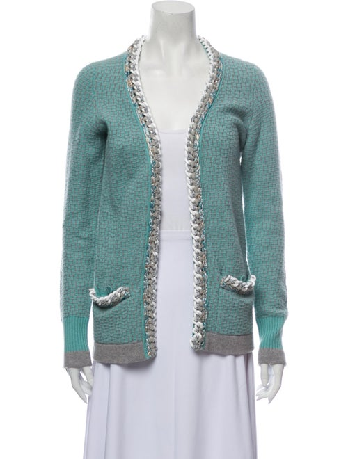 Chanel 2014 Cashmere Sweater Green