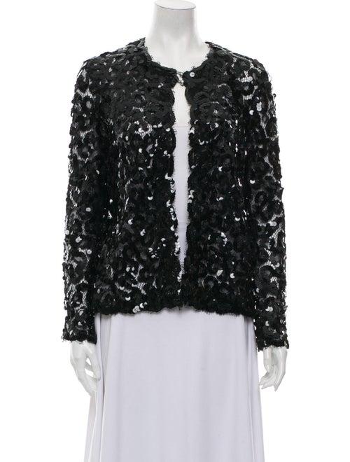 Chanel Vintage Crew Neck Sweater Black