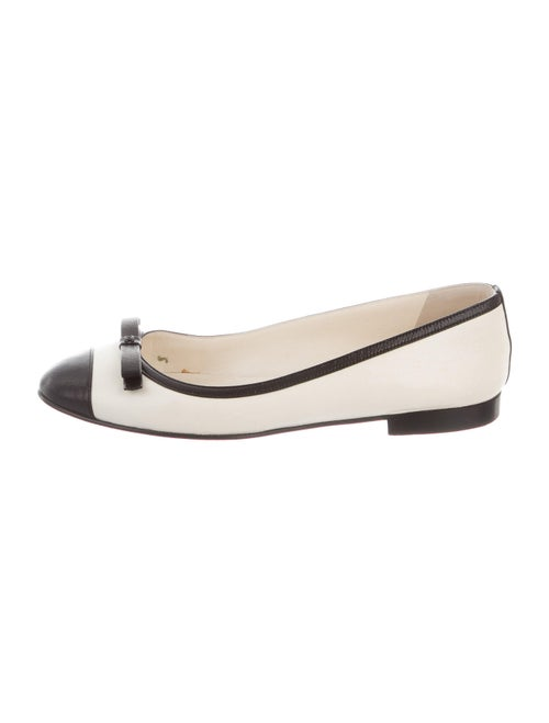 Chanel 2010 Leather Ballet Flats