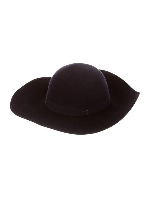 Chanel CC Felt Hat Black