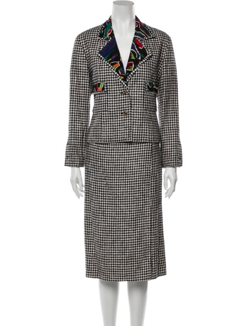Chanel Vintage Silk Skirt Suit
