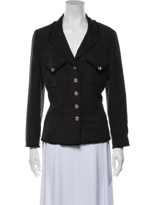 Chanel Vintage 2006 Blazer Black