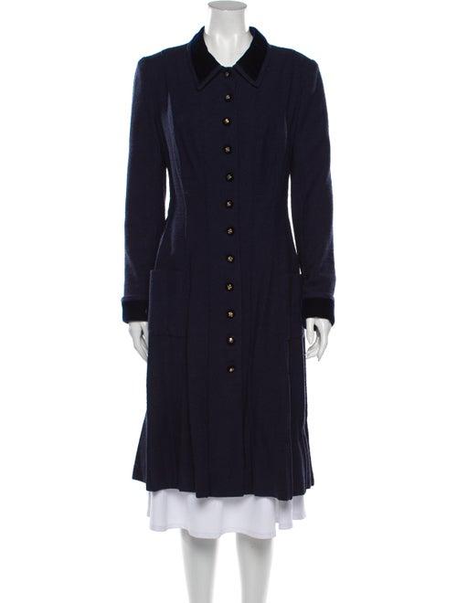 Chanel Coat Blue